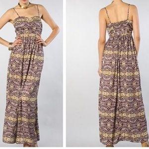 NEW JACK S Charleston Maxi Dress Purple